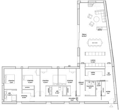 Plan Maison De Maitre  Conceptions De La Maison  BizokoCom